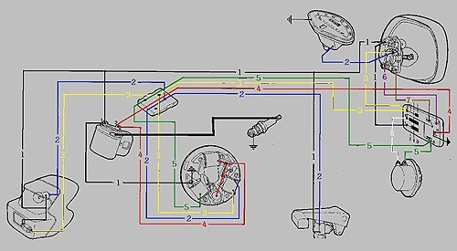 vespa gs160 wiring diagram11 vespa wiring diagrams Kymco Super 8 150 Review at n-0.co