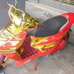 Gold modded scooterjpg