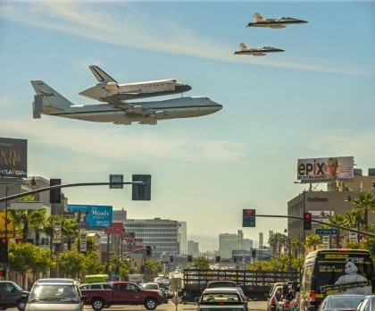 Los Angeles Space Shuttle