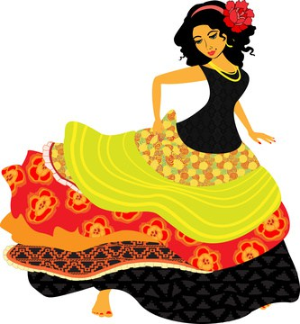 Flamenco Spanish Woman