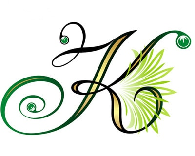 Letter K Tattoo