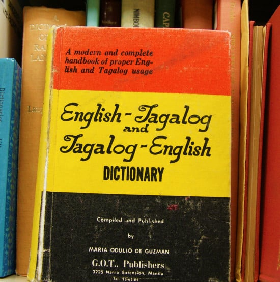 English to Tagalog Book