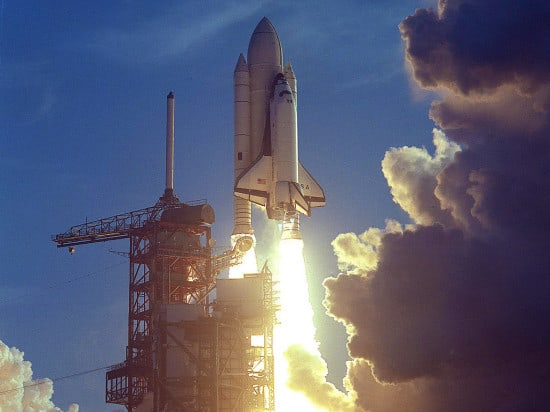 Columbia Shuttle Launch 1981