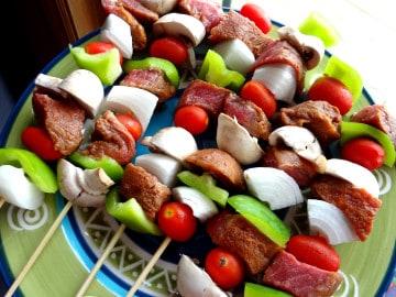 kebabs-mushrooms